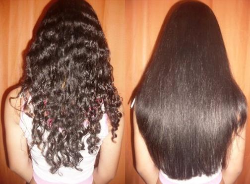 Маска выпрямляющая для волос