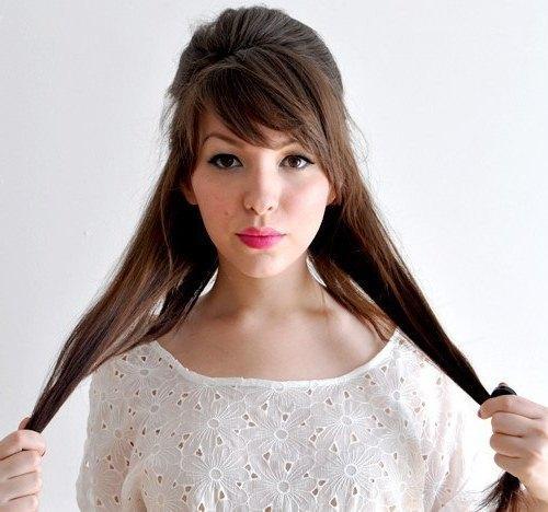 Валик для волос как сделать шишку 81