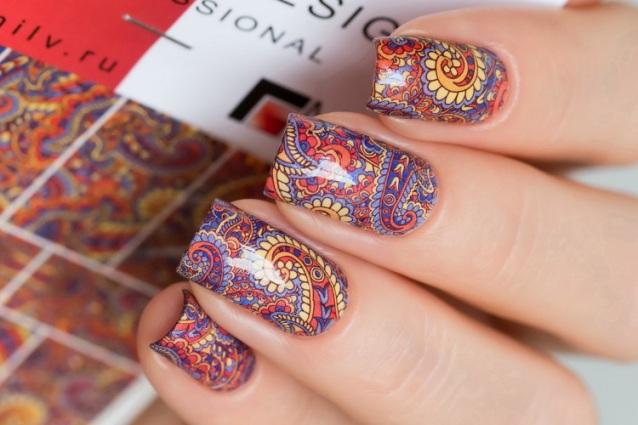 Как вырезать слайдер дизайн ровно по ногтю