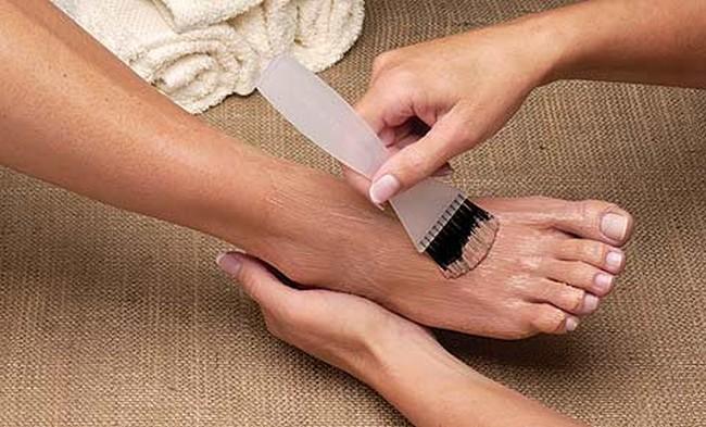 Как сделать ноги потемнее