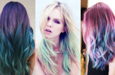 Цветная тушь в новой роли: красим волосы