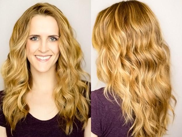фото волосы волнами