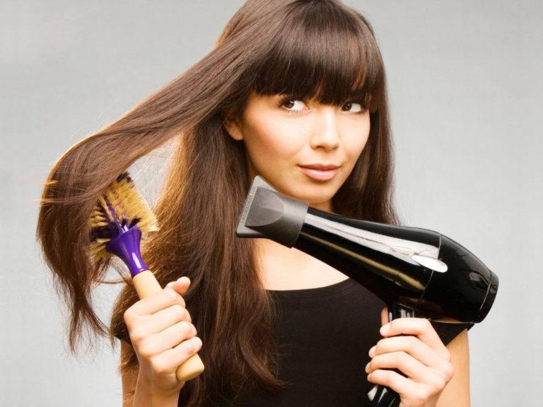 Как сделать укладку и не навредить волосам