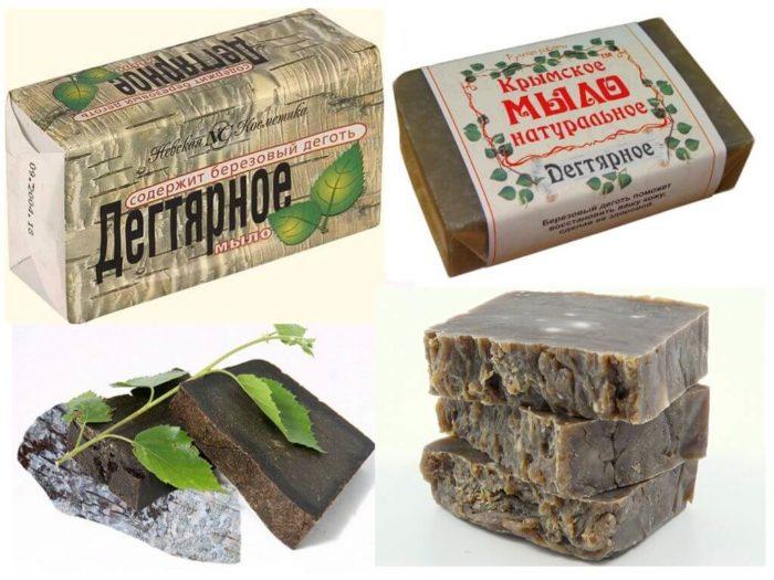 degtyarnoe myilo 700x525 - Дегтярное мыло против морщин